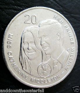 Kate Middleton Royal Wedding Coin Pippa Queen Elizabeth Silver UK