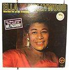 RARE VERVE JAZZ ELLA FITZGERALD in hollywood Jim Hall