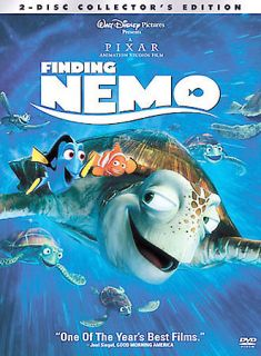 Finding Nemo (DVD, 2003, 2 Disc Set) Widescreen and Full Frame Discs