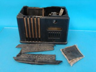 62 228 2 X 16 Antique Tube Radio Chassis Bakelite Eye Repair P&R
