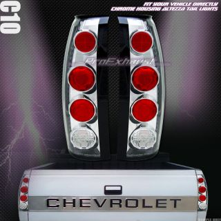 Newly listed EURO CHROME ALTEZZA TAIL LIGHTS REAR LAMPS 88 98 CHEVY