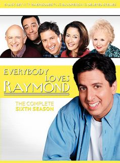 Everybody Loves Raymond The Complete Sixth Season DVD, 2006, 5 Disc
