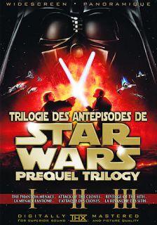 Star Wars Prequel Trilogy DVD, 2008, 6 Disc Set, Canadian Sensormatic