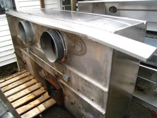 ft Stainless Steel Commercial Restaurant Exhaust Fume Vent Hood