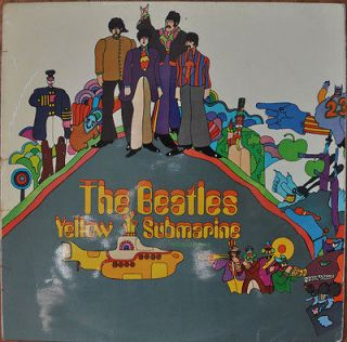 THE BEATLES Yellow Submarine UK EXPORT ODEON 1969 PPCS 7070 Excellent
