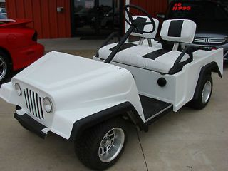 Jeep Wrangler Gas Club Car Golf Cart ~PRICED TO SELL ***New wheels