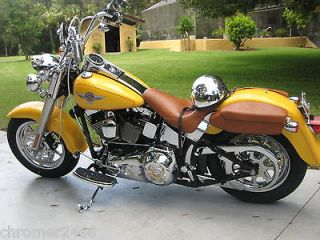 Chrome Wheels Heritage Fatboy Softail 9 Spoke O.E.M. FLST Rims