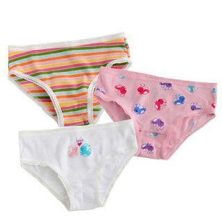 NEW Vaenait Baby Toddler Kids Girl 3 pack of Briefs Set  Rabbit set