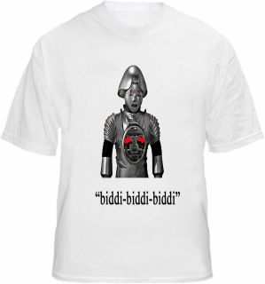 Twiki T shirt Buck Rogers Robot Catchprase Quote TV Tee