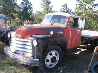 1949 Chevy 6410 3100 cab complete Rat Rod Running original engine