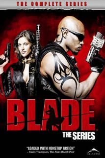 Blade   The Complete Series DVD, 2008, 4 Disc Set, Canadian