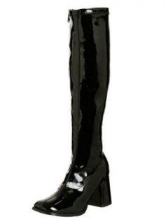 FUNTASMA 60S/70S STYLE COSTUME GOGO BOOT IN BLACK
