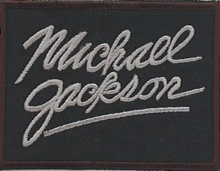 michael jackson patches in Entertainment Memorabilia