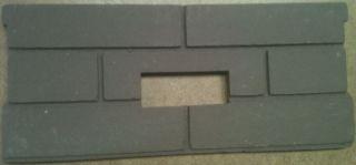 Ultra Flame Whitfield Pellet Stove Firebrick Cerra Board for Profile