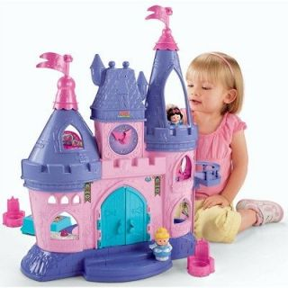 fisher price little people disney princess songs palace in Pretend