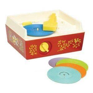 FISHER PRICE CLASSICS  Music Box Record Player  ESDEVIUM