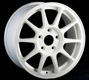 SPEC WHITE RIMS WHEELS 16x7 +45 4x100 CIVIC INTEGRA MINI COOPER FIT XB