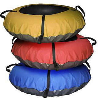 Huge Inner Tube Snow Tube Combo Sled Sledding Snow Tubing Rental Tubes