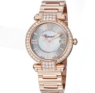 Chopard Imperiale Ladies Rose Gold Diamond Watch 384221 5004 Watches