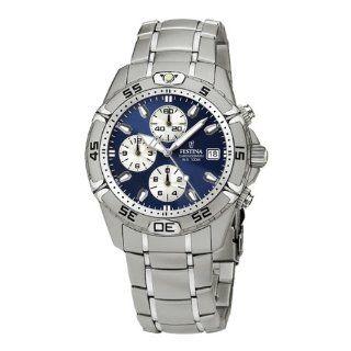 Festina Mens Estuche F16169/3 Silver Stainless Steel Quartz Watch