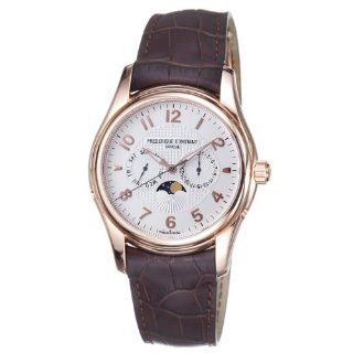 Frederique Constant Mens FC 360RM6B4 Runabout Goldtone Day Date