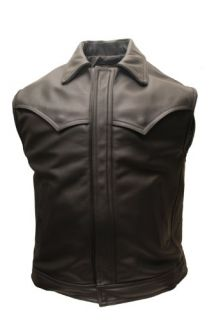 Outlaw Network Enterprises Spirit Leather Biker Vest w