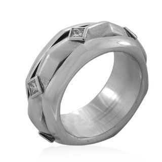 18kt White Gold Diamond Rotating Piaget Ring (.60 ct. tw