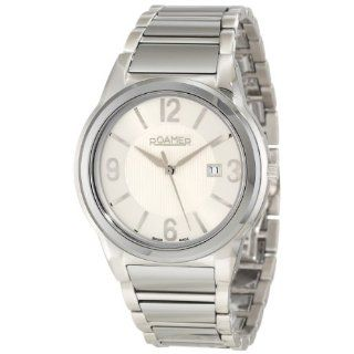 Elegance Silver Dial Stainless Steel Date Watch Watches