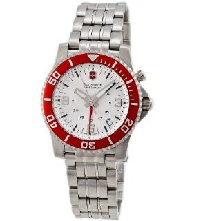 Victorinox Swiss Army Womens 24142 Maverick II Alarm Red Bezel Watch