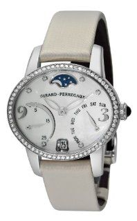 Girard Perregaux Womens Cats Eye Bi Retro White Gold Diamond Watch