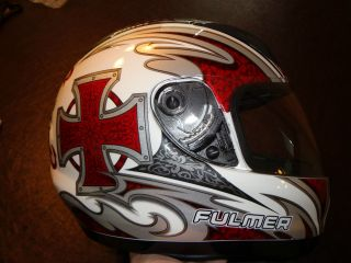 Fulmer Joust Full Face Morotcycle Helmet DOT approved size S