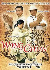 Wing Chun   TV Series DVD, 2008, 8 Disc Set