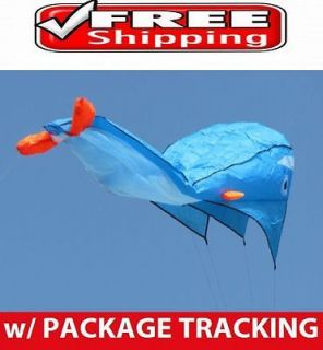 3D Parafoil Goldfish Kite Fun Outdoor Relax Game Flying Toy Good for