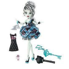 Monster High Frankie Stein Doll Sweet 1600 Rare Daughter of
