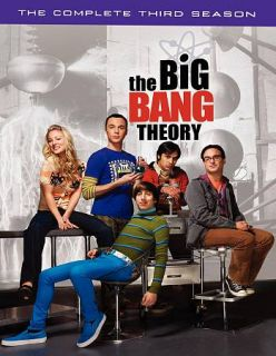 The Big Bang Theory The Complete Third Season DVD, 2010, 3 Disc Set