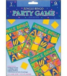 Jungle Pals Bingo Party Game Party Supplies Favors
