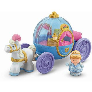 Fisher Price Little People Disney Princess Cinderellas Coach