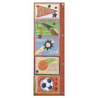 Oopsy Daisy too Sports Growth Chart   13x39 product details page