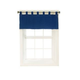 Denim Tab Top Valance   Blue (57x18) product details page