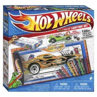 Hot Wheels Travel Light Box product details page