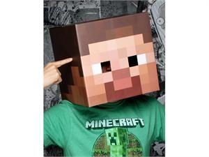 Newegg   Minecraft 12 Steve Head Costume Mask