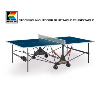 KETTLER KETTLER Stockholm Outdoor Blue Table Tennis / Ping Pong Table