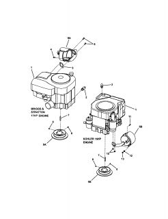 Snapper Comet Rear Engine Riding Mower Parts Manual 265X2650268X