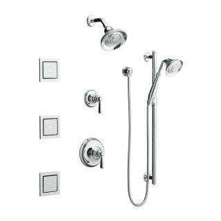 Shop KOHLER Bancroft Polished Chrome 1 Handle Shower Faucet Trim Kit
