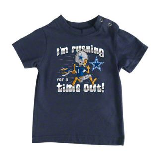 Dallas Cowboys Infant Time Out Navy Tee