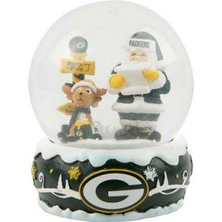 Green Bay Packers Holiday Snow Globe