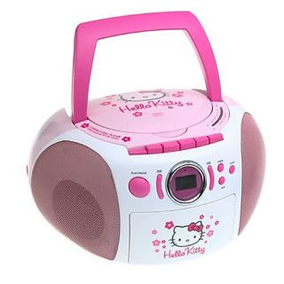Hello Kitty Stereo CD Boombox