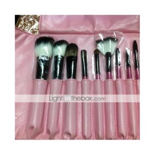 Color Shine High Quality Wool Brush Set(10pcs)