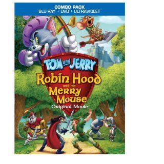 Tom & Jerry Robin Hood & His Merry Mouse [Blu ray]  DVD