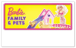 Buy Barbie and family dolls and pets at the Argos Barbie shop with